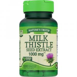 Nature's Truth Milk Thistle Seed Extract 1000mg Caps