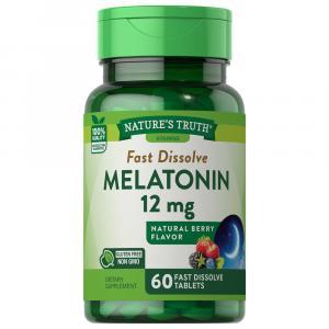 Nature's Melatonin 12mg Fast Dissolve Tabs