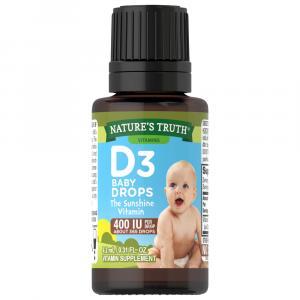 Nature's Truth D3 Baby Drops 400 IU Vitamin Supplement