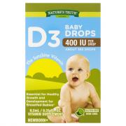 Nature's Truth D3 Baby Drops 400 IU Vitamin Supplement