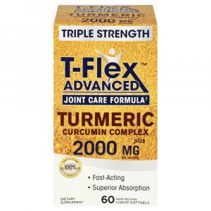 T-Flex Advanced Turmeric Curcumin Complex 1600mg