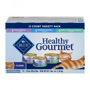 Blue Buffalo Healthy Gourmet Flaked Variety Pack