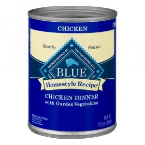 Blue Buffalo Homestyle Recipe Chicken Dinner