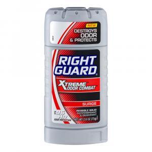 Right Guard Xtreme Odor Combat Surge Invisible Solid