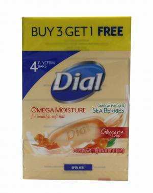 Dial Omega Moisture Glycerin Soap Sea Berries