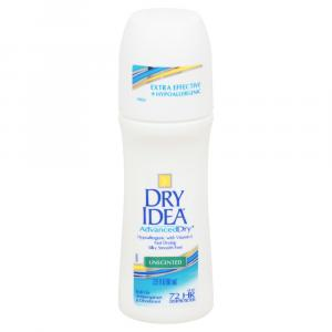 Dry Idea Roll-on Unscented Deodorant