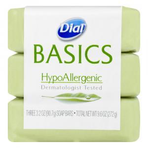Dial Basics Hypoallergenic Bar Soap