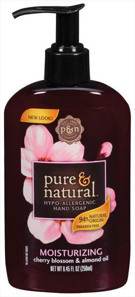Pure & Natural Cherry Blossom And Almond Oil Hand Soap