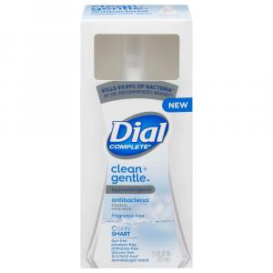 Dial Complete Clean Gentle Foaming Hand Wash Fragrance Free