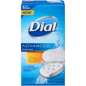 Dial Advanced Lather Pocket Bar Soap