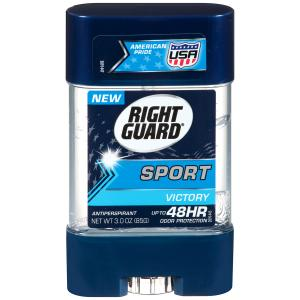 Right Guard Sport Victory Clear Gel Antiperspirant