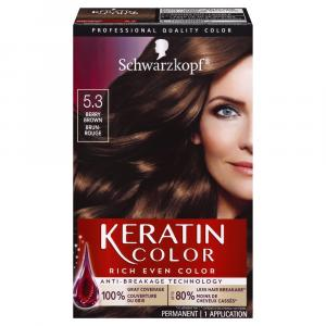 Schwarzkopf Keratin Color Berry Brown 5.3 Hair Color