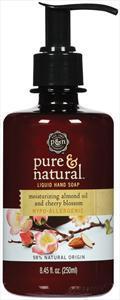 Pure & Natural Almond Oil & Cherry Blossom Liquid Hand Soap