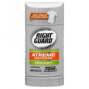 Right Guard Xtreme Defense 5 Solid Fresh Blast