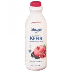 Lifeway Kefir Organic Pomegranate Acia Cultured Milk