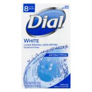 Dial White Bath Size Bar Soap