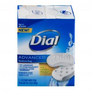 Dial Advanced Deodorant Bar Soap