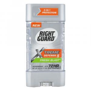 Right Guard Xtreme Defense 5 Gel Fresh Blast