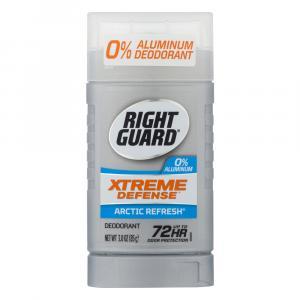 Right Guard 0% Aluminum Xtreme Defense Arctic Refresh