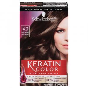 Schwarzkopf Keratin Color Cappuccino 4.0 Hair Color