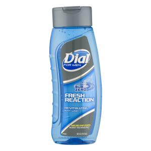 Dial For Men Sub Zero Fresh Reaction Revitalizing Body Wash
