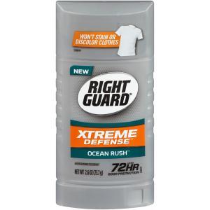 Right Guard Xtreme Defense Ocean Rush Deodorant