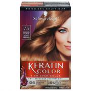 Schwarzkopf Keratin Color Caramel Blonde 7.5 Hair Color