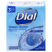 Dial Spring Water Bath Size Bar Soap