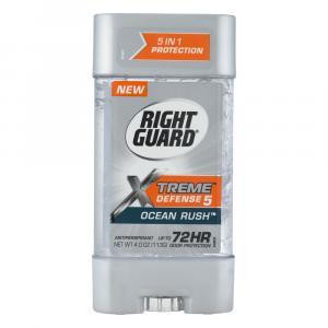 Right Guard Xtreme Defense Ocean Rush Gel Deodorant
