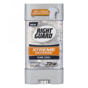Right Guard Xtreme Defense Pure Cool Gel Deodorant