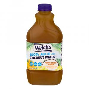 Welch's 100% White Grape Mango with Coconut Water
