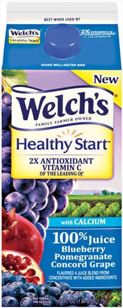 Welch's Healthy Start Blueberry Pomegranate Concord Grape