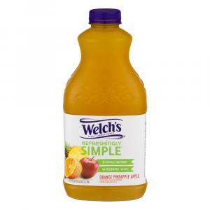 Welch's Refreshingly Simple Orange Pineapple Apple Juice