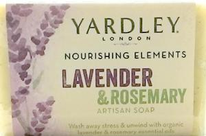 Yardley Lavender & Rosemary Artisan Bar Soap