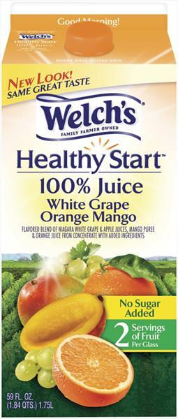 Welch's White Grape Orange Mango 100% Juice