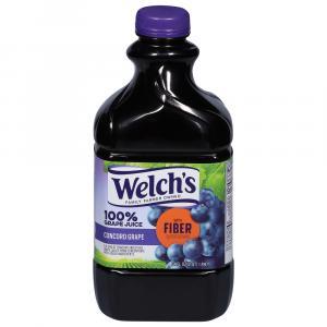 Welch's 100% Grape Juice W/fiber