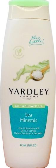 Yardley Bath & Shower Gel Skin Smoothing Sea Minerals