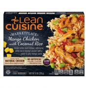 Lean Cuisine Limited Edition Mango Chicken with Coconut Rice