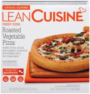 Lean Cuisine Cafe Classics Roasted Vegetable Pizza