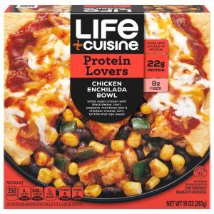 Life Cuisine Chicken Enchilada Bowl