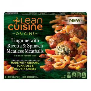 Lean Cuisine Origins Linguine with Ricotta & Spinach