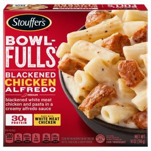 Stouffer's Bowl-Fulls Blackened Chicken Alfredo