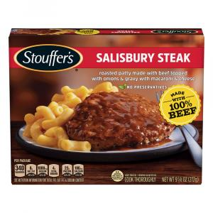 Stouffer's Homestyle Salisbury Steak w/Macaroni & Cheese