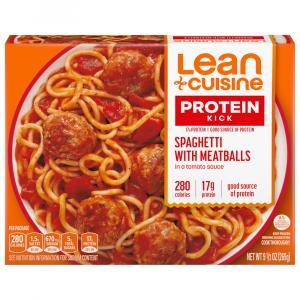 Lean Cuisine Spaghetti w/Meatballs