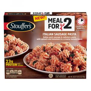 Stouffer's Meal For 2 Italian Sausage Pasta