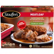 Stouffer's Family Style Recipes Meatloaf & Gravy
