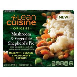 Lean Cuisine Origins Mushroom & Vegetable Shepherd's Pie
