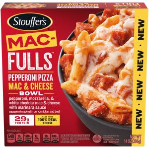Stouffer's Mac-Fulls Pepperoni Pizza Mac & Cheese Bowl