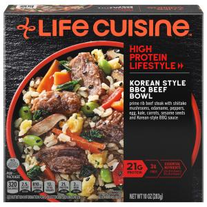 Life Cuisine Korean Style BBQ Beef Bowl