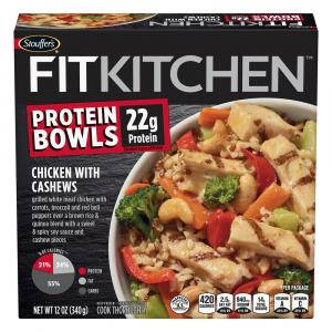 Stouffer's Fit Kitchen Chicken With Cashews Bowl